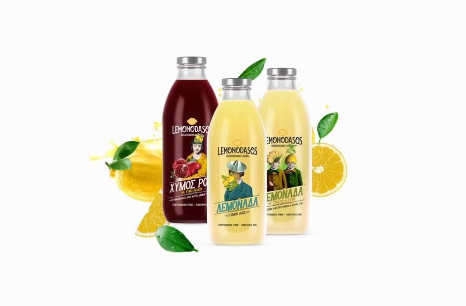 Λεμονοδάσος Φυσικός Χυμός Λεμονιού